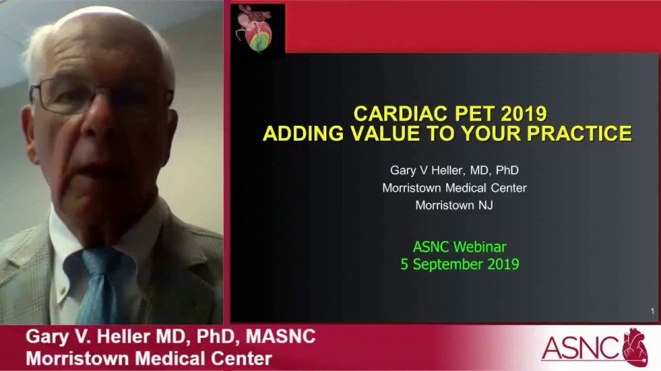 Cardiac PET: Adding Value to Your Practice