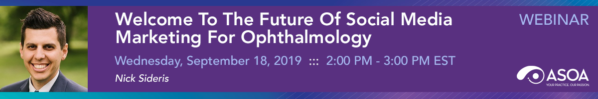 Welcome To The Future Of Social Media Marketing For Ophthalmology
