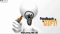 Feedback is a Gift … REALLY!!!
