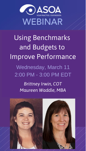 Using Benchmarks and Budgets to Improve Performance
