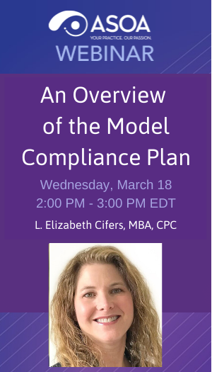 Coding and Compliance - An Overview of the Model Compliance Plan