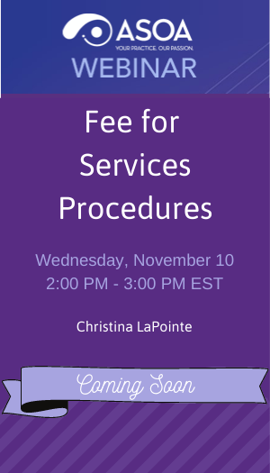Fee for Services Procedures