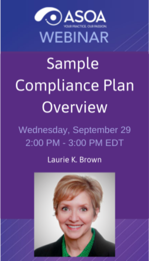Sample Compliance Plan Overview