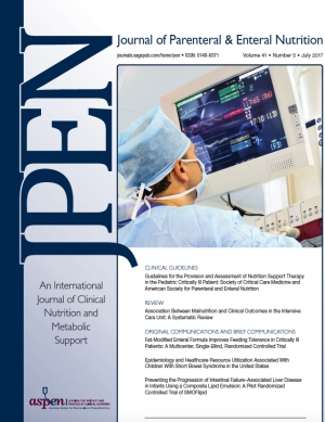 Journal of Parenteral and Enteral Nutrition (JPEN)