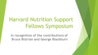 Harvard Nutrition Support Fellows Symposium