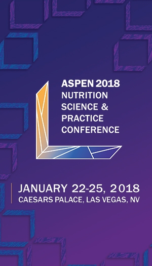 ASPEN Nutrition Science & Practice Conference 2018 - Dietitian Credits