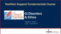 GI Disorders & Ethics