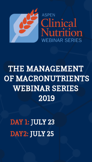 The Management of Macronutrients for Pediatric and Neonatal Patients