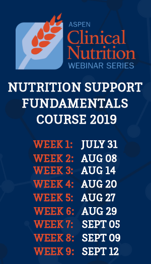 Nutrition Support Fundamentals Course 2019