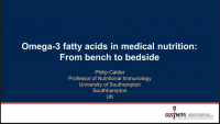 Expert Consensus on Omega-3 Fatty Acids in Parenteral Nutrition: Focus on Critical Care and Major Surgery