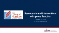 Sarcopenia and Interventions to Improve Function icon