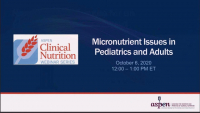 Micronutrient Issues in Pediatrics and Adults icon
