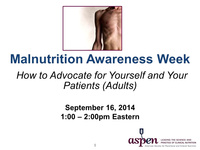MAW Chat with the Experts: How to Advocate for Yourself and Your Patients (Adult)