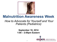 MAW Chat with the Experts: How to Advocate for Yourself and Your Patients (Pediatric)