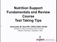 Nutrition Support Fundamentals and Review Course