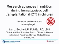 What's New in Transplant Nutrition: Research and Practice Trends