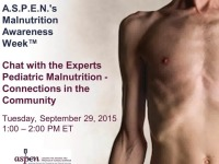 Chat with the Experts: Pediatric Malnutrition - Connections in the Community