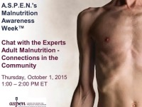Chat with the Experts: Adult Malnutrition - Connections in the Community