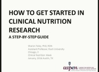 How to Get Started in Clinical Nutrition Research