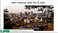 Non-classical Roles of B Cells