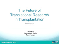 The Future of Translational Research