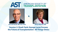 Shark Tank: George Lucas Foresees the Future of Transplantation – all things Omics