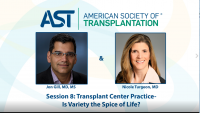 Transplant Center Practice – Is Variety the Spice of Life?