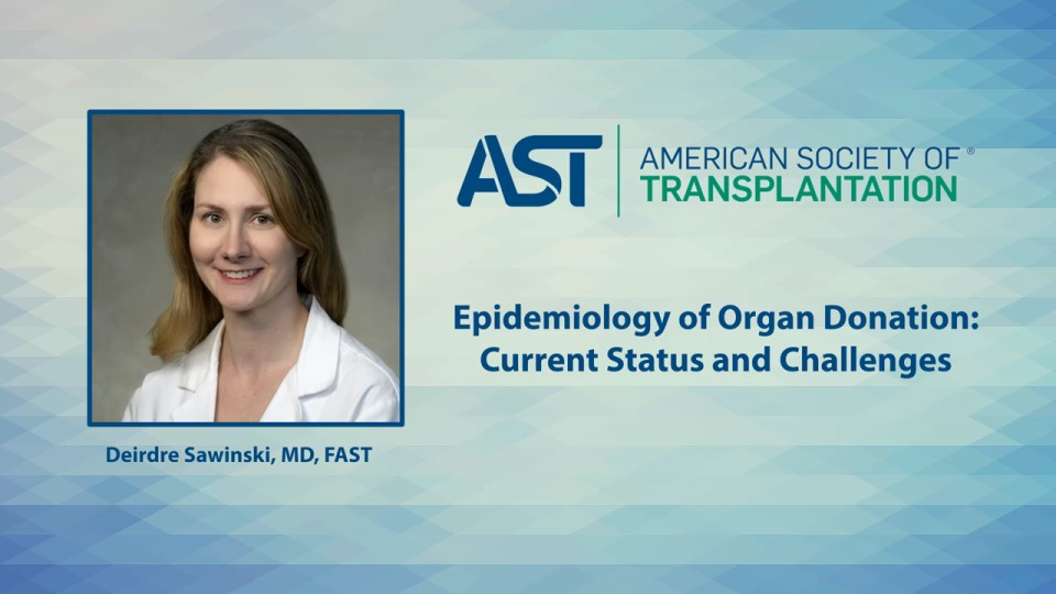Epidemiology of Organ Donation: Current Status and Challenges