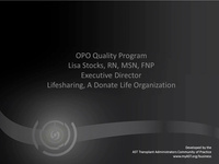OPO Quality Program