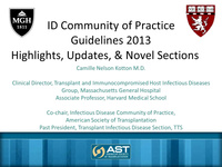 Updates on the International CMV Consensus Guidelines and the AST ID Guidelines Third Edition