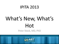 International Pancreas and Islet Transplant Association World Congress: 2013 Summary (IPITA 2013)