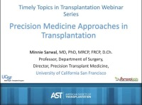 Precision Medicine Approaches in Transplantation