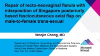 Repair of recto-neovaginal fistula with interposition of Singapore posteriorly based fasciocutaneous axial flap on male-to-female trans-sexual