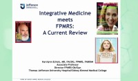 Integrative Medicine Meets Urogynecology: A Current Review