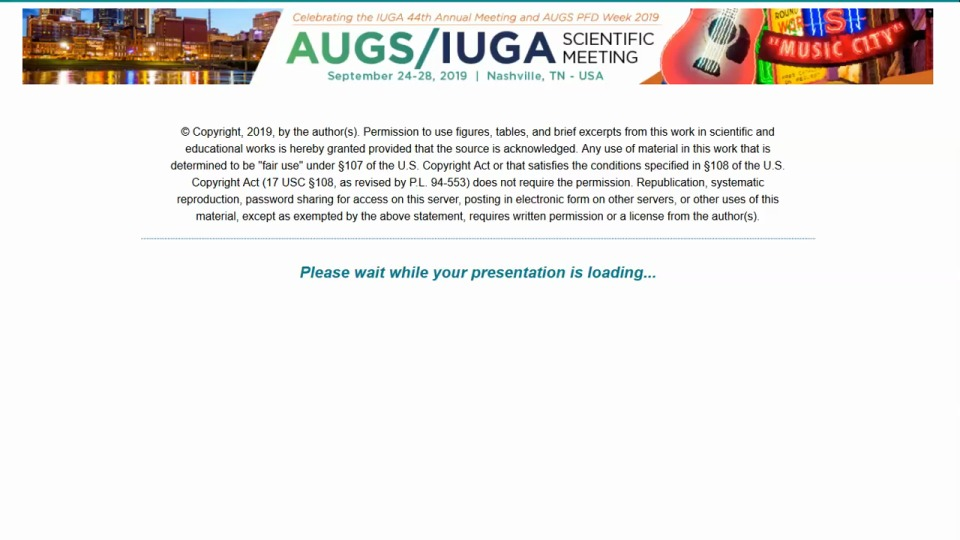 Short Oral Session 7 - Miscellaneous
