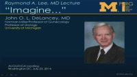 2014 - Raymond A. Lee Lecture: Imagine
