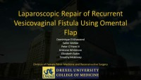 Laparoscopic Repair of Recurrent Vesicovaginal Fistula Using Omental Flap