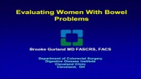 Colorectal Medicine and Surgery for the Urogynecologist