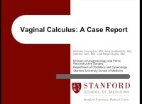 Removal Of Vaginal Calculus With Surgical Drill
