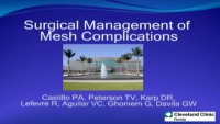 Surgical Management of Mesh Complications
