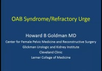 OAB Syndrome/Refractory Urge