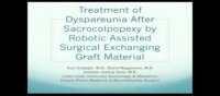 Treatment of Dyspareunia After Sacrocolpopexy By Robotic Assisted Surgical Exchanging Graft Material