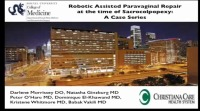 Robotic Assisted Paravaginal Repair at the Time of Sacrocolpopexy: A Case Series