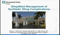 Simplified Management of Synthetic Sling Complications