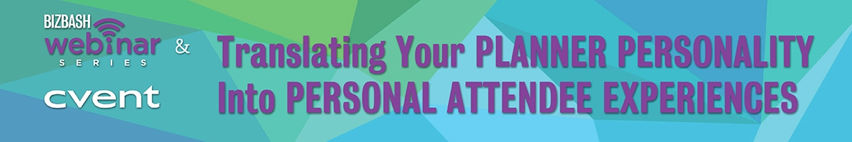 Translating Your Planner Personality into Personal Attendee Experiences