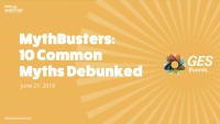 MythBusters: 10 Common Event Myths Debunked