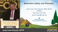 Medication Safety and Pharmacy   (Rx = .75 hr.)