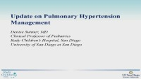 Current Practices in Pulmonary Hypertension (Rx = .75 Hr.) ACPE #0263-000-18-937-L01-P (.75 Contact Hr.)