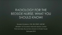 #14 Radiology for the Bedside Nurse: What You Need to Know!