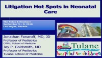 #13 Litigation Hot Spots in Neonatal Care (Rx = .25 Hr.)  ACPE #0263-000-18-950-L01-P (1.25 Contact Hrs.)